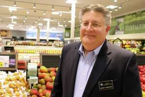 Harry Garafalo, owner of six ShopRite supermarkets in the state, including a new store in Cromwell.