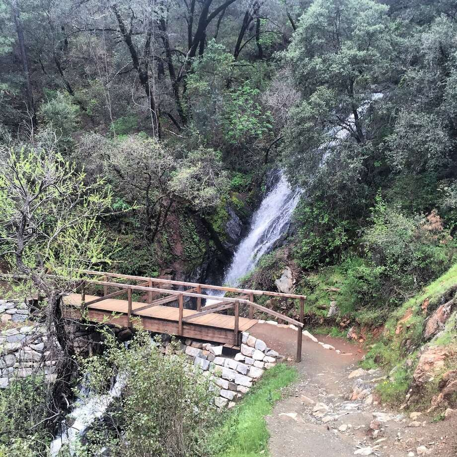 The Black Hole of Calcutta Falls in Placer County. Photo: Michelle H. Via Yelp