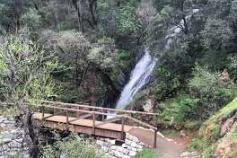 The Black Hole of Calcutta Falls in Placer County.