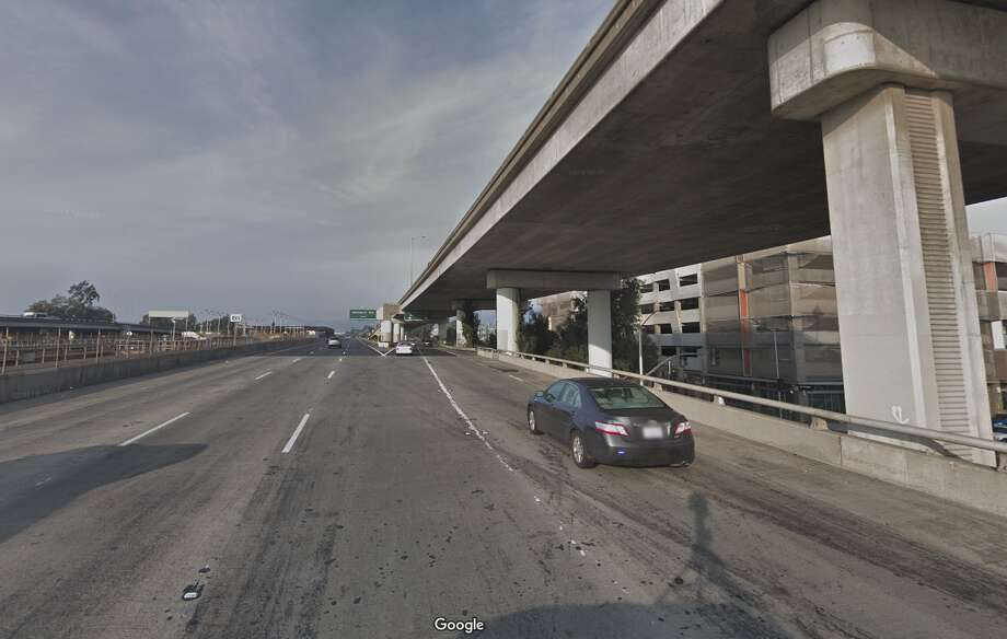 A bicyclist was struck and killed on a Highway 24 off-ramp Wednesday afternoon. Photo: Google Maps