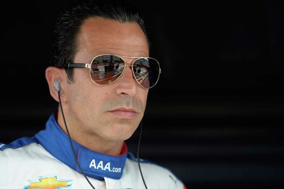 FORT WORTH, TX - JUNE 09:  Helio Castroneves, driver of the #3 AAA Insurance Team Penske Chevrolet, looks on during qualifying for the Verizon IndyCar Series Rainguard Water Sealers 600 at Texas Motor Speedway on June 9, 2017 in Fort Worth, Texas.  (Photo by Robert Laberge/Getty Images) ORG XMIT: 700060910 Photo: Robert Laberge / 2017 Getty Images