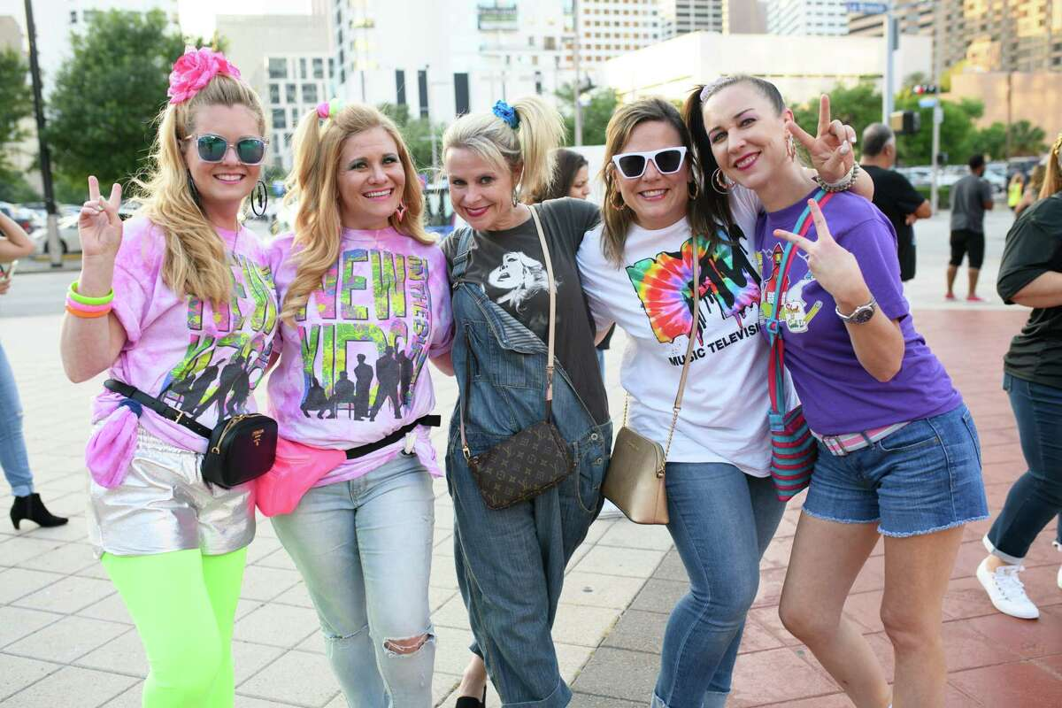 Fans of New Kids on the Block at the Toyota Center in Downtown Houston on Wednesday, May 15, 2019