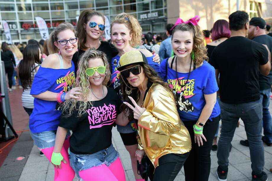 Fans of New Kids on the Block at the Toyota Center in Downtown Houston on Wednesday, May 15, 2019 Photo: Jamaal Ellis, For The Houston Chronicle / © 2019 Houston Chronicle