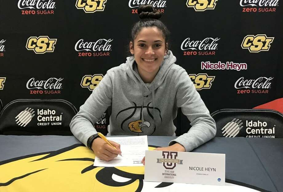 The TAMIU women's basketball team announced Wednesday the signing of Nicole Heyn from the College of Southern Idaho. Photo: Courtesy Of TAMIU Athletics