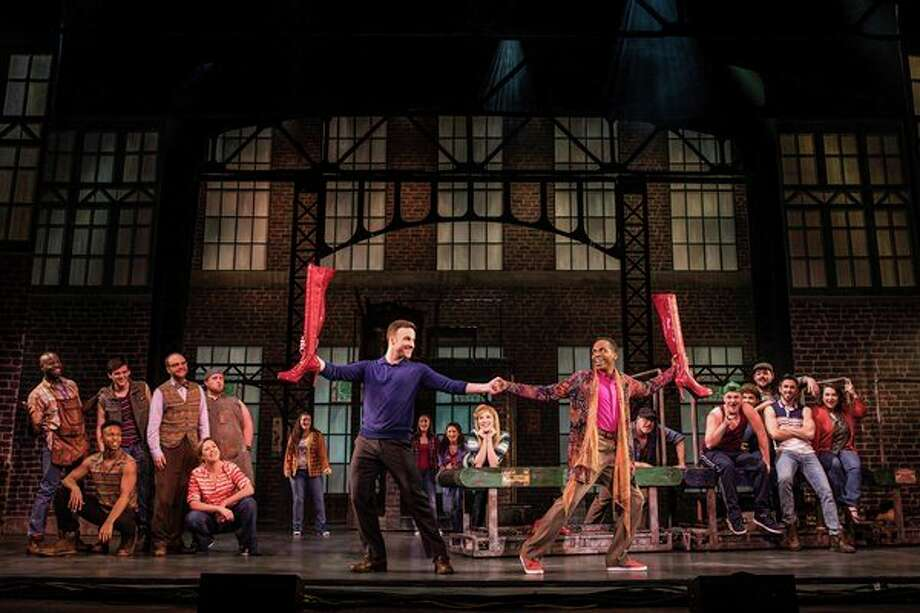 """Tickets are on sale for the national Broadway tour of the Tony Award-winning best musical """"Kinky Boots,� which will be on stage this month at the Midland Center for the Arts. (Photo provided)"""