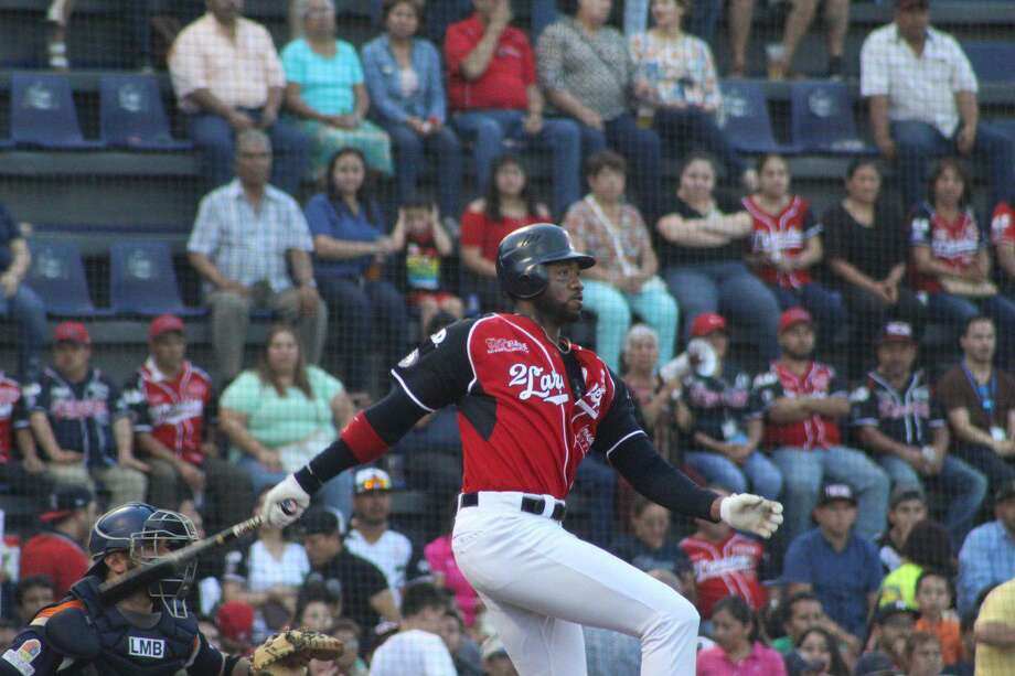 Outfielder Domonic Brown leads the Tecolotes with 16 home runs this year. Photo: Courtesy Of The Tecolotes Dos Laredos /file