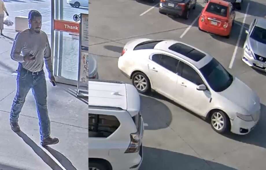 Anyone that recognizes the suspect or the vehicle is asked to call 281-346-8888 or email Investigator Villa at bvilla@fulsheartexas.gov. Photo: Fulshear Police