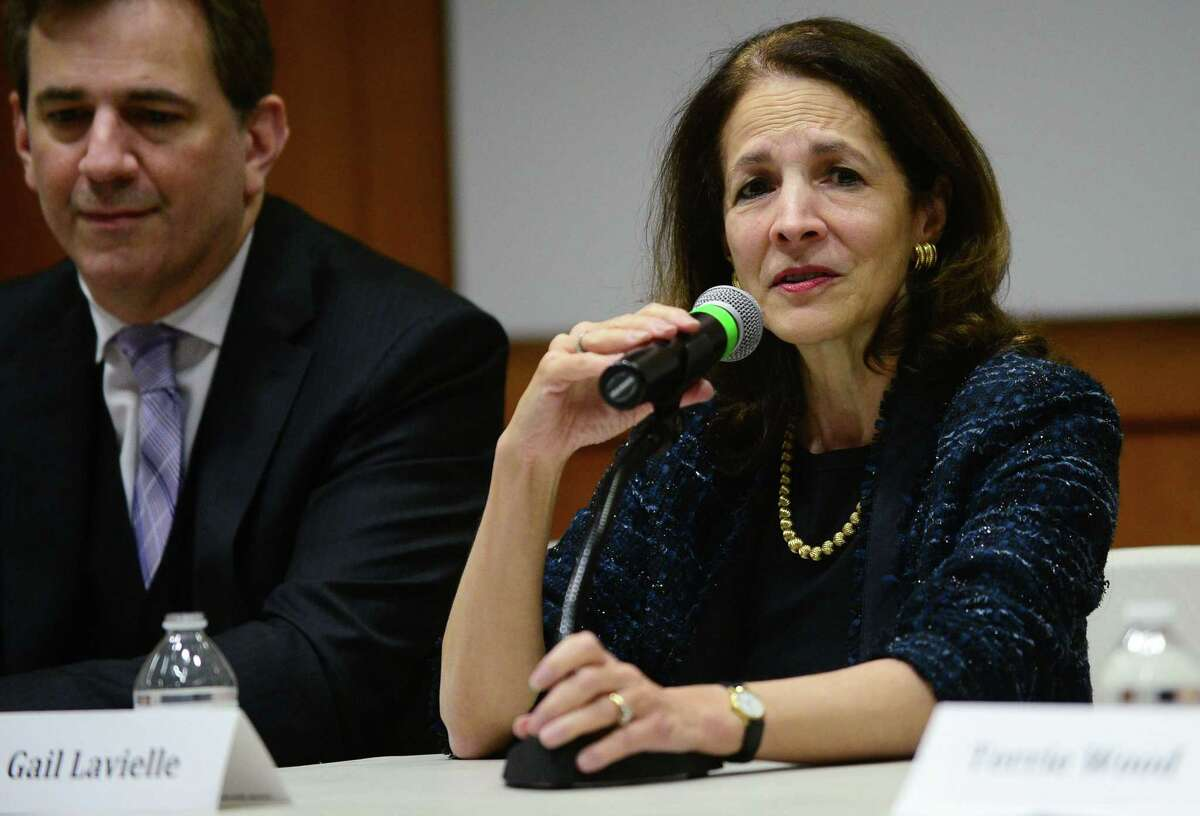 Rep. Gail Lavielle, R-Wilton, said Tuesday there appear to be massive weaknesses in a draft bill that would create a trucks-only toll system on a dozen state bridges.