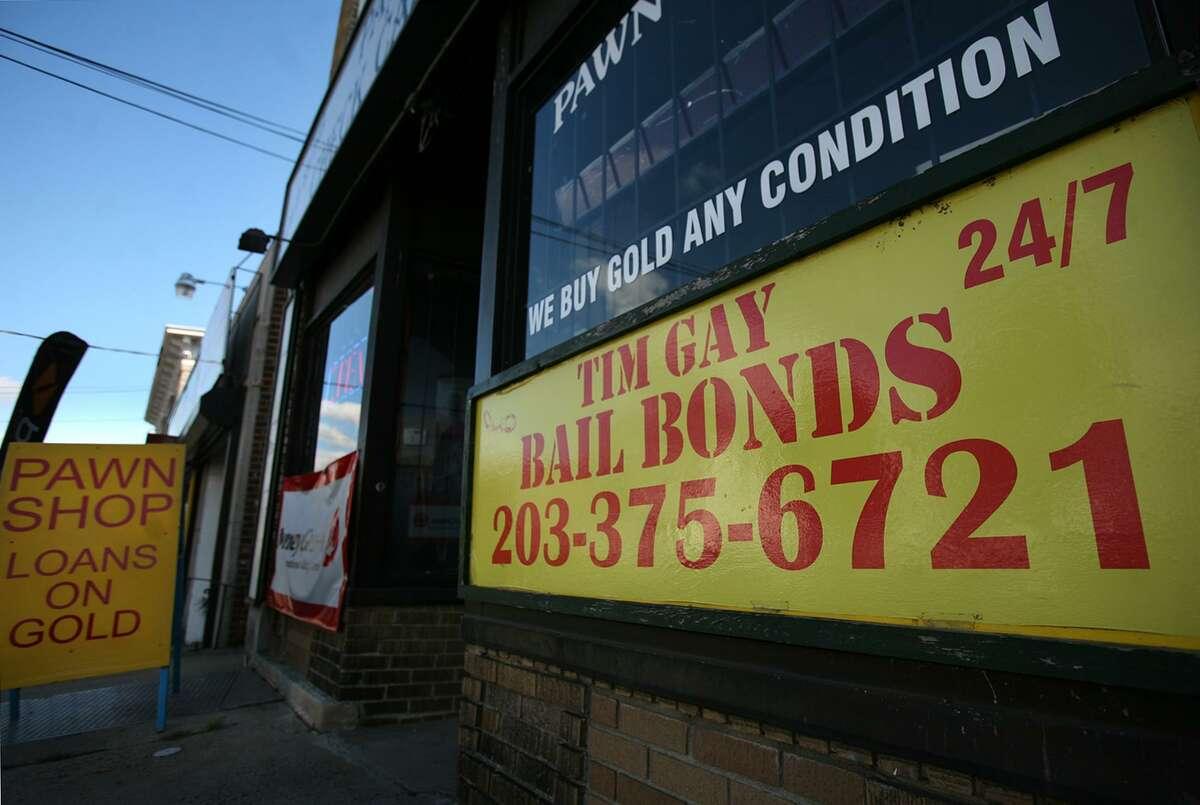 Tim Gay's Bail Bonds at 1812 Barnum Ave. in Bridgeport.
