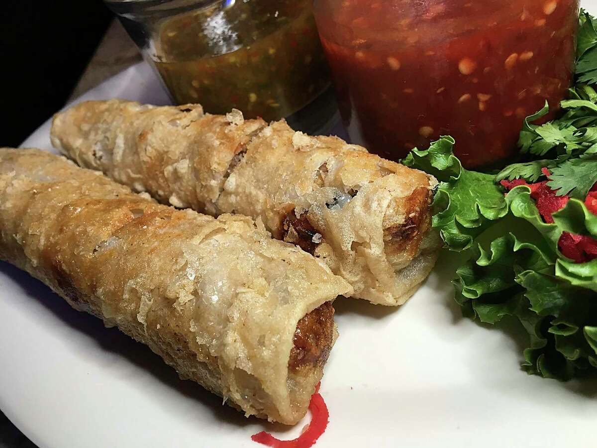 The best introduction to this enduring Austin Highway spot is a pair of spring rolls with pork, clear noodles, mushrooms and carrots wrapped in rice paper and fried with a bubble crunch. 1146 Austin Highway, 210-829-7345, tongsthai.com.Read Tong's review here.