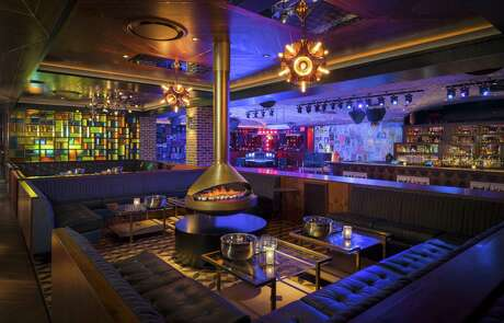 On the Record is a speakeasy-style club with multiple rooms offering karaoke, live music, DJ booth, and a hidden vinyl parlor. The nightclub at Park MGM in Las Vegas is the work of Los Angeles-based club owners Jonnie and Mark Houston.