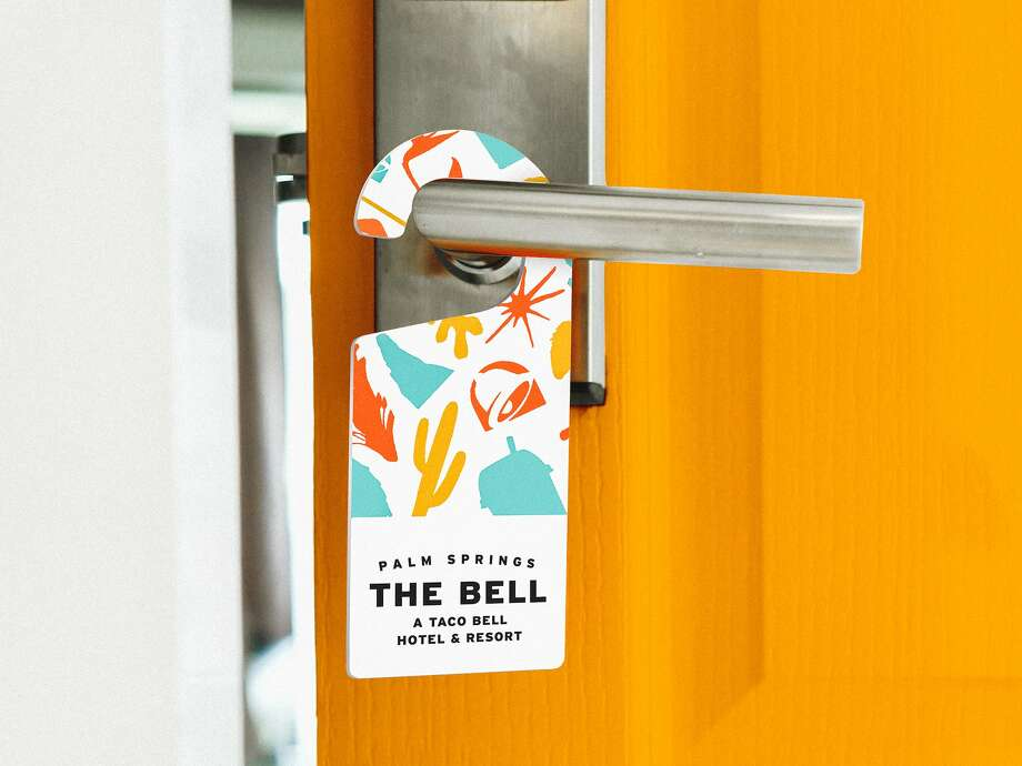 On Thursday, the fast-food chain announced it would open The Bell: A Taco Bell Hotel and Resort in Palm Springs, California, on August 9. Photo: Taco Bell