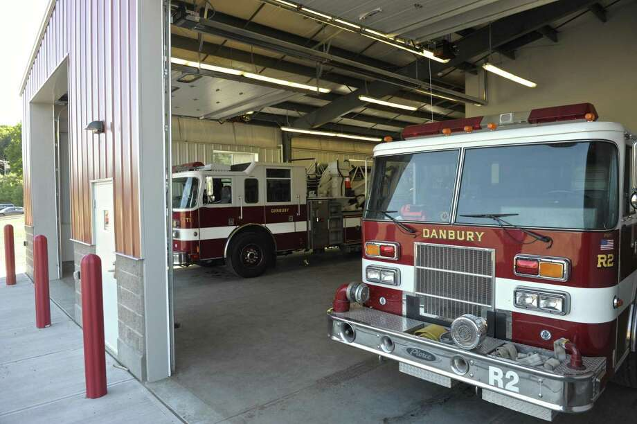 Truck bays at the Danbury Fire Department training facility, Monday afternoon, September 12, 2016, in Danbury, Conn. Photo: H John Voorhees III / Hearst Connecticut Media / The News-Times