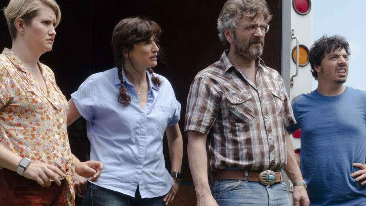 """""""Sword of Trust"""" May 16 at Marion Oliver McCaw Hall at 7 p.m. This show is the opening night gala, with director Lynn Shelton and actor Marc Maron scheduled to attend. Opening up the festival islocal director Lynn Shelton's latest feature, """"Sword of Trust,"""" starringJillian Bell, Marc Maron, and Michaela Watkins as a group trying to unload an inherited Civil War sword and find themselves thrust unexpectedly into a world of conspiracy and Southern disillusionment. As Shelton's first work outside of Seattle, and herlatest film following 2018's """"Outside In,""""there's a lot that's new about """"Sword of Trust."""" But there are few directors better at letting scenes play out as a series of characters sizing each other up in a way that makes it feel like the audience is dropping in on. And Shelton's easy realism only aids the performances at the heart of her film, especially as the story moves further and further away from standard."""