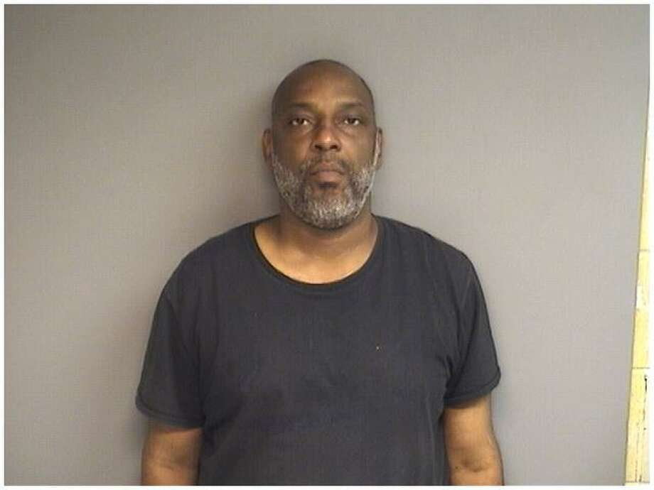 Shawn King, 46, of Stamford, also known as Jihad Amir, was charged with robbing a cabbie at gunpoint Sunday morning in Stamford. Photo: Stamford Police / Contributed