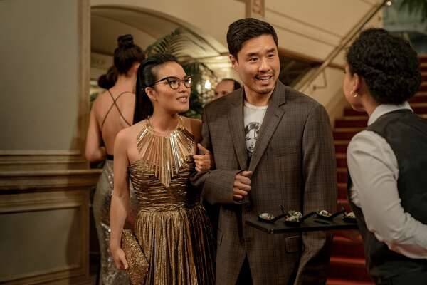"""Ali Wong and Randall Park star in Netflix's SF-set romantic comedy """"Always Be My Maybe."""""""