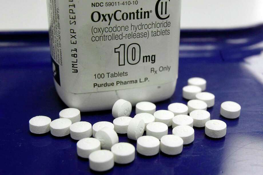 Purdue Pharma is the maker of OxyContin. It has launched another drug, Adhansia XR, which treats attention deficit hyperactivity disorder. Photo: Toby Talbot / Associated Press / Copyright 2019 The Associated Press. All rights reserved.