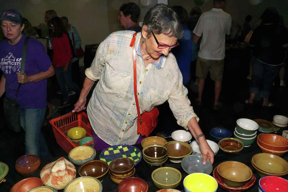 This Saturday, the 15th Annual Empty Bowls Houston event will raise funds for the Houston Food Bank through $25 donations that get attendees a hand-crafted bowl and a soup lunch. Photo: Courtesy Photo