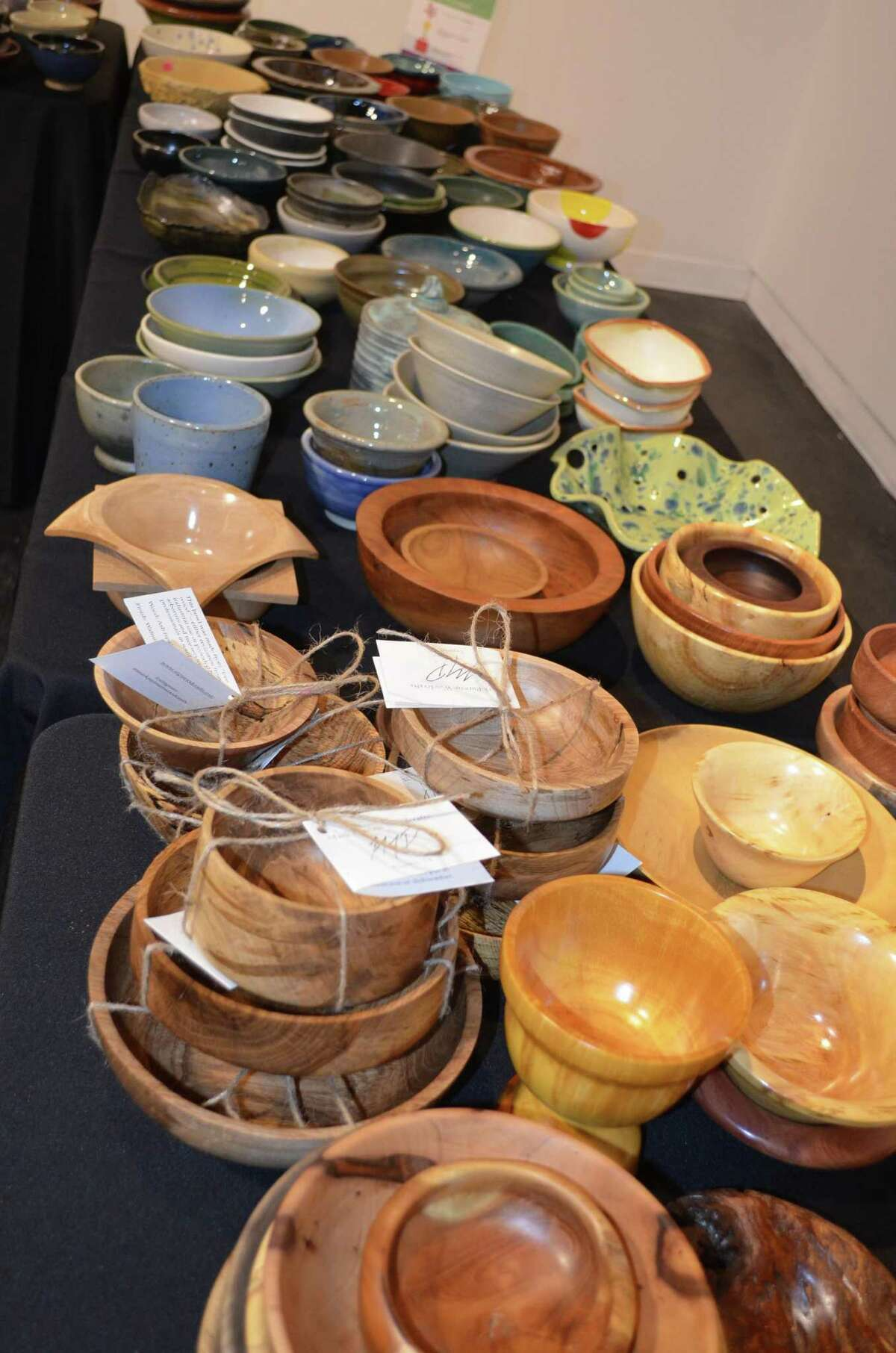 The 15th Annual Empty Bowls Houston event is slated for this Saturday at the Houston Center for Contemporary Craft. Attendees can shop more than 1,500 hand-crafted bowls, each for a $25 donation that includes a soup lunch.