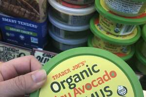 Spicy Avocado Hummus at Trader Joe's
