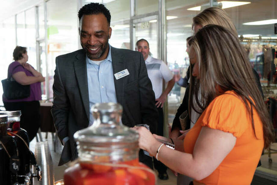 The community was invited to attend Obar's taste testing event on Wednesday where the fast-casual restaurant featured different drinks and food from their menu to celebrate the opening of the new restaurant. Photo: Breanna Booker | The Intelligencer