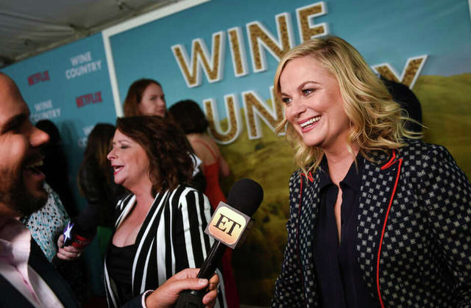 """Producer-director Amy Poehler attends the premiere of """"Wine Country"""" at The Paris Theatre on Wednesday, May 8, 2019, in New York. Photo: Photo By Evan Agostini/Invision/AP"""
