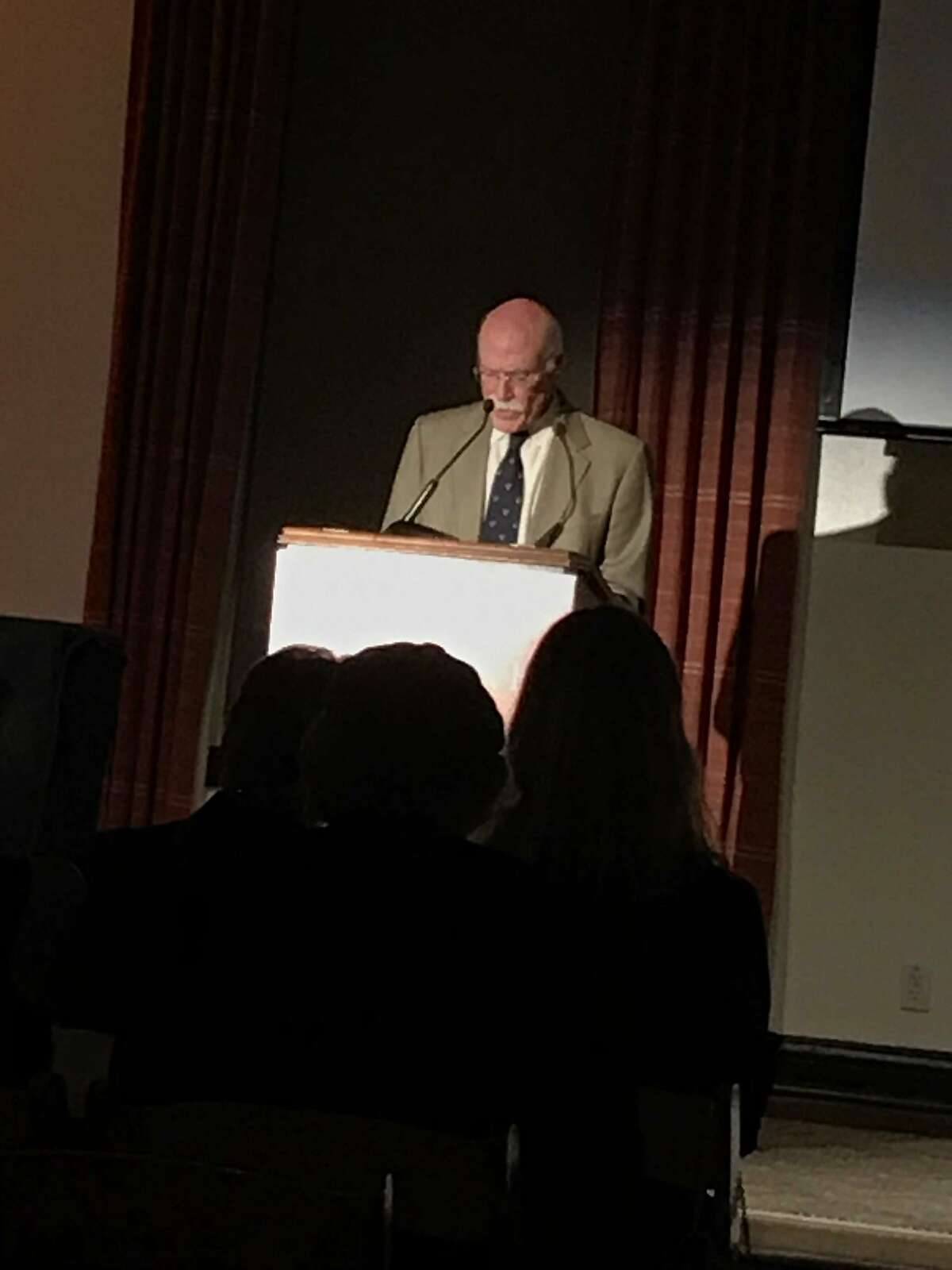 Tobias Wolff at Narrative 15th anniversary party