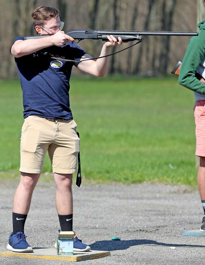 Scenes from the latest Bad Axe trapshooting event. Photo: Mike Gallagher/Huron Daily Tribune