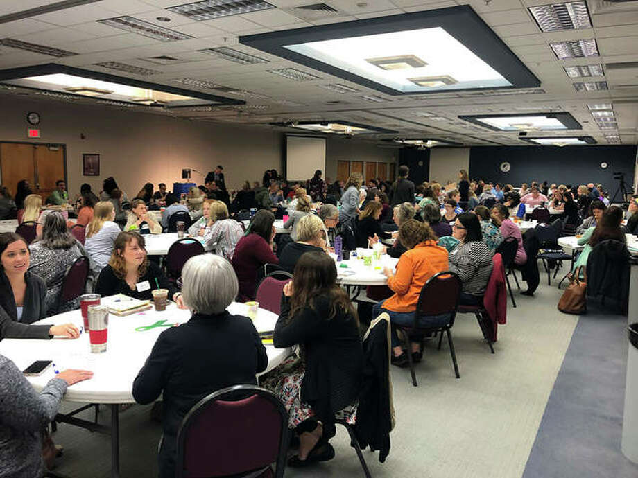 Nearly 200 people attended the Trauma-Informed System of Care Conference on May 4 at John A. Logan College's main conference center. Photo: Courtesy Of Centerstone