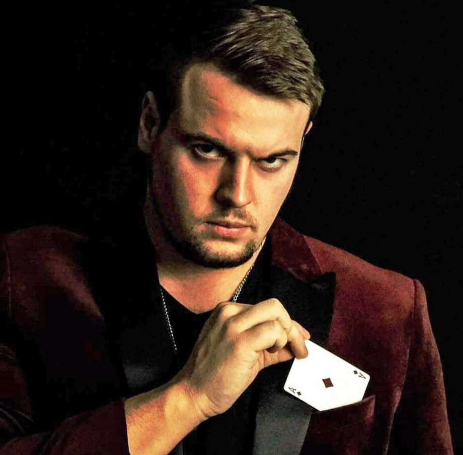 Professional magician and Middletown native Nevin Sanchez, a Western Connecticut State University marketing major graduating this spring, will be teaching in China this summer. Photo: Contributed Photo