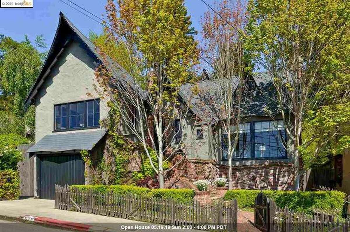 """Fantastically designed, this Storybook home in the Berkeley Hills has been dubbed """"The Harry Potter House"""" by neighboring children."""