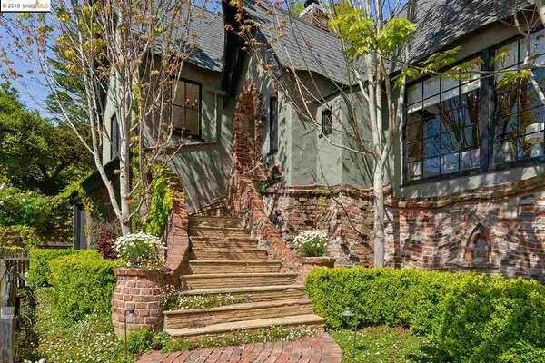 "Fantastically designed, this Storybook home in the Berkeley Hills has been dubbed ""The Harry Potter House"" by neighboring children."