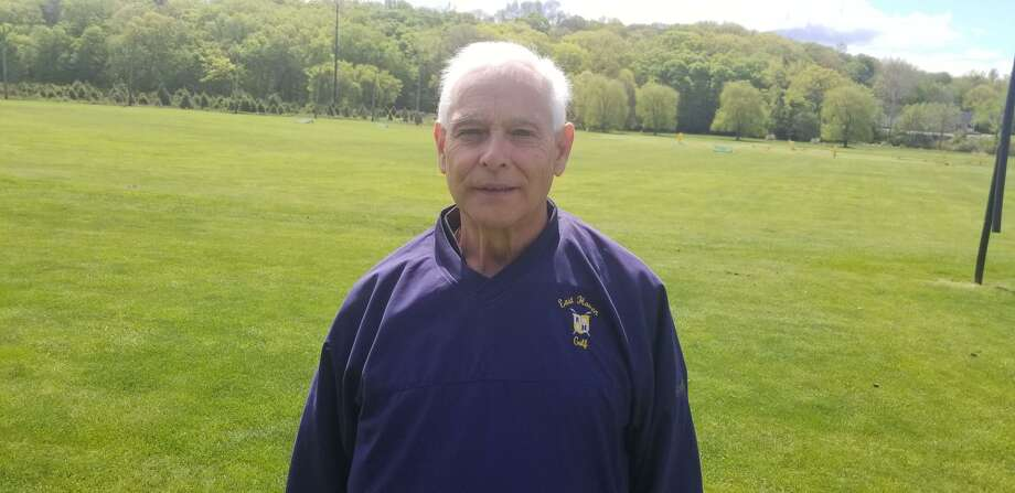 East Haven golf coach Dave Augustine is retiring after 42 seasons on the job. Photo: Joe Morelli / Heart Connecticut Media