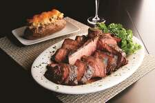 Porterhouse steak at Mastro's Steakhouse, Houston.