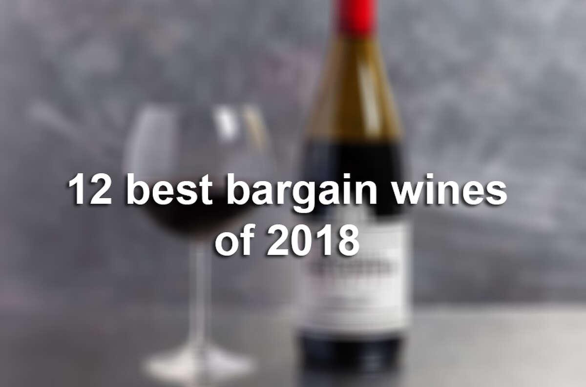 12 best bargain wines of 2018.