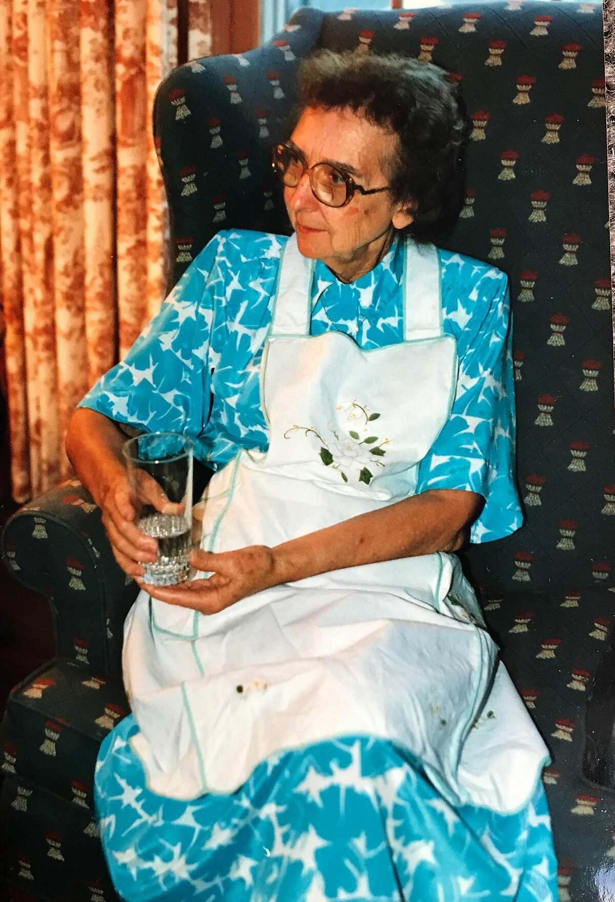 Family photos of Vernice Kelley, Esther Mobley's maternal grandmother. Vernice was a great Southern cook.