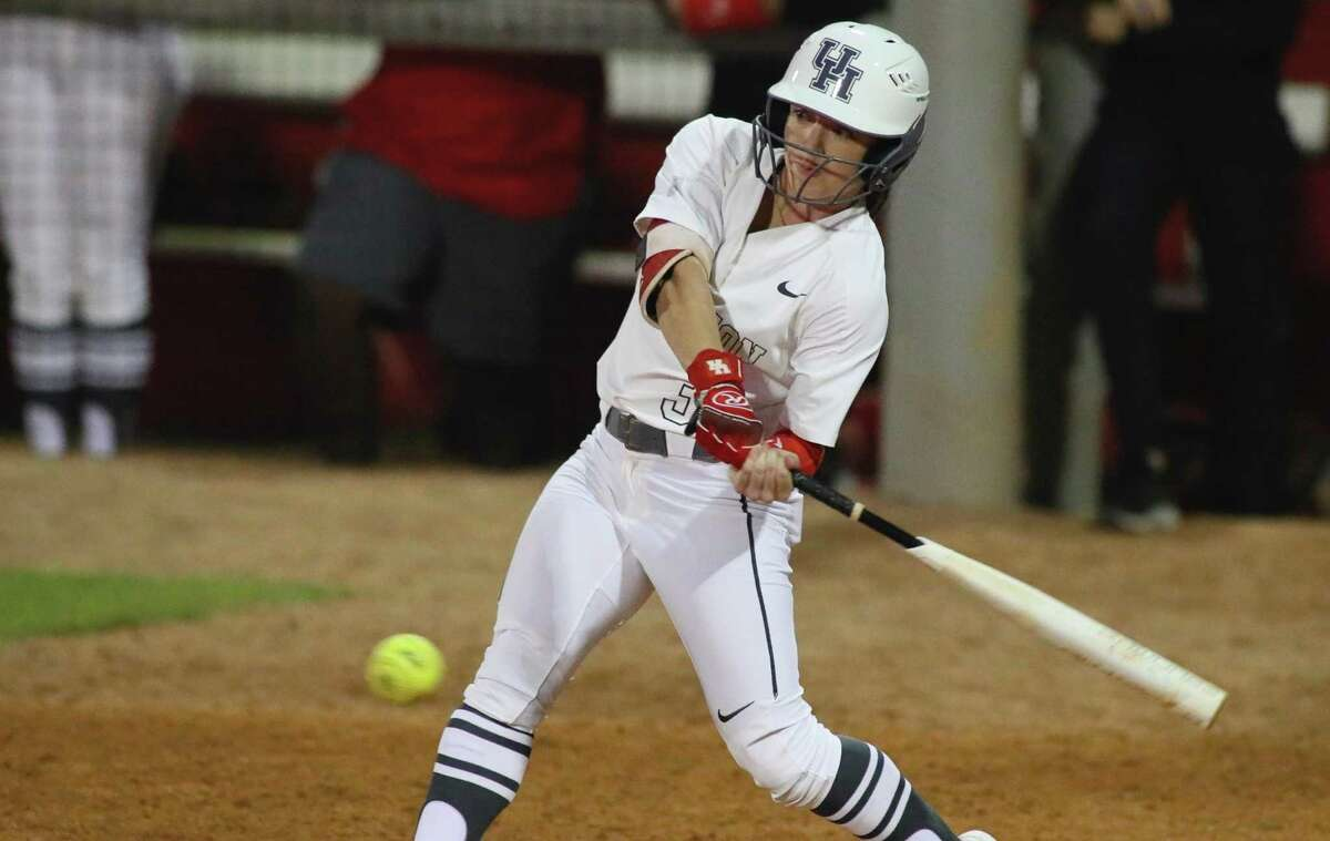 UH senior Sarah Barker was the American Athletic Conference player of the year.
