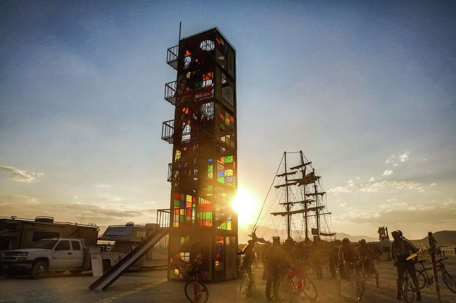 Greg Barron's Burning Man installation has drawn the attention of the city of Alameda, leading to some hefty fines for the artist. Photo: Jonathan Goody / Copyright 2015