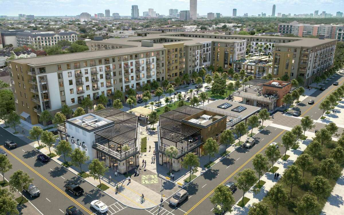 """Regent Square, a mixed-use development planned on the former site of the Allen House Apartments at West Dallas and Dunlavy streets, will be a set up as a """"dynamic, walkable place,"""" said James Linsley, GID's president."""
