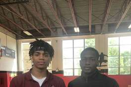 UConn recruiting targets Demarr Langford (L) and Hassan Diarra (R)