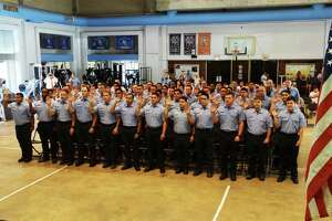 The city swore in 66 Houston fire cadets Thursday. Mayor Sylvester Turner rescinded layoff notices issued to the cadets last month after a state district judge on Wednesday declared Proposition B unconstitutional. The mayor said he would rescind layoff notices sent to nearly 200 firefighters and municipal workers, too.
