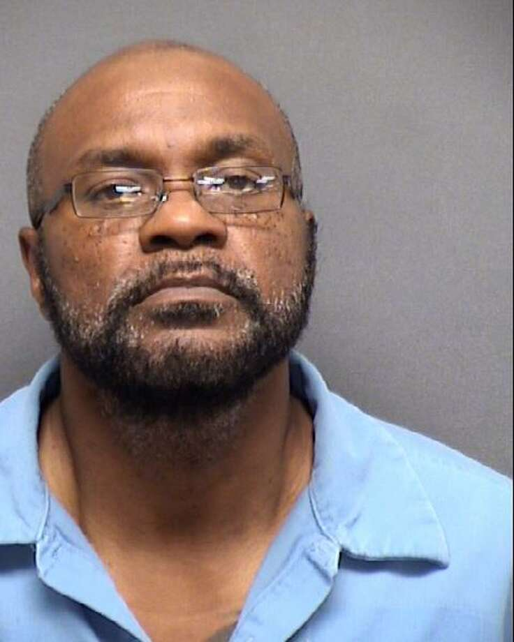 Juarez Bibbs, 52, is seen in a booking photo from his arrest on May 15, 2019. He is charged with murder in the death of 38-year-old Eddie Carter, who was found dead at about 1 a.m. Dec. 28, 2016, outside a Jack in the Box at 5311 Rigsby Ave. Photo: Courtesy Bexar County Sheriff's Office