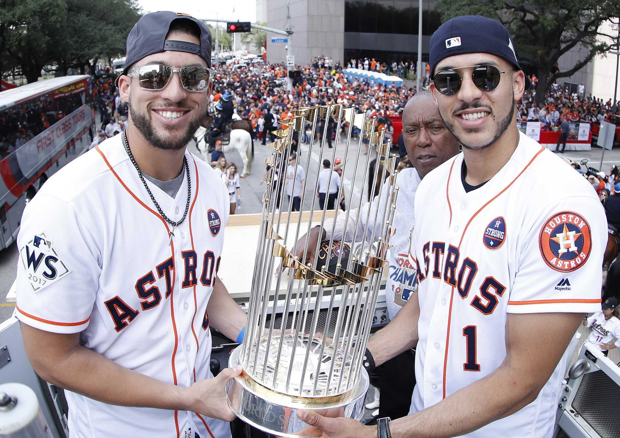 How the Astros can keep both George Springer, Carlos Correa for a long time