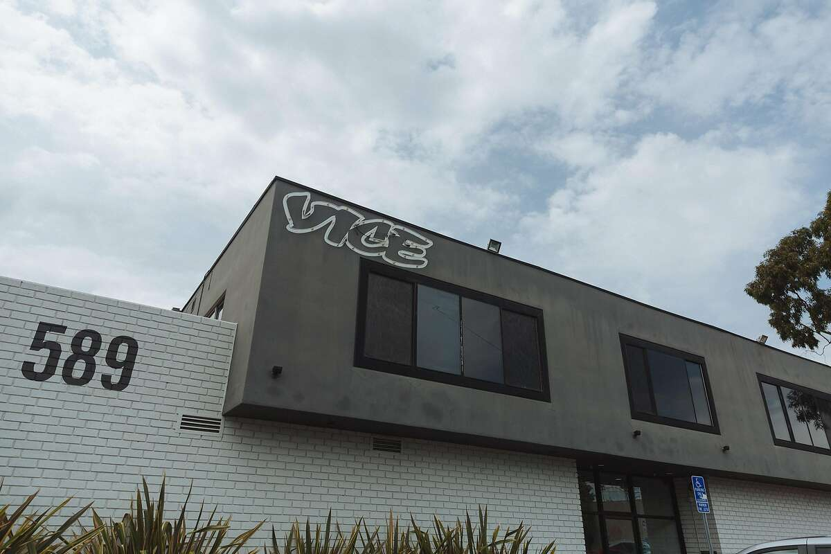 Vice Studios' offices in Los Angeles. The company is counting on TV and movie production to help its business.
