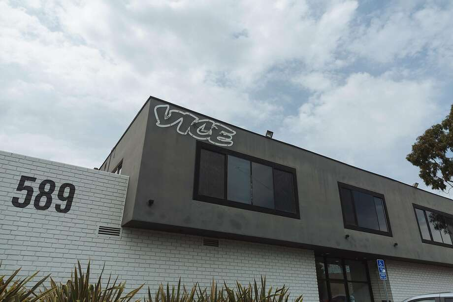 Vice Studios' offices in Los Angeles. The company is counting on TV and movie production to help its business. Photo: Kayla Reefer / New York Times