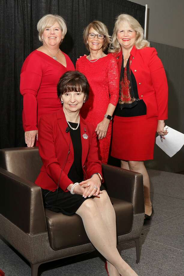 Were you Seen at the 15th Annual Go Red  for Women luncheon, a benefit for the American Heart Association, at the Albany  Capital Center on Thursday, May 16, 2019? Photo: Joe Putrock/Special To The Times Union