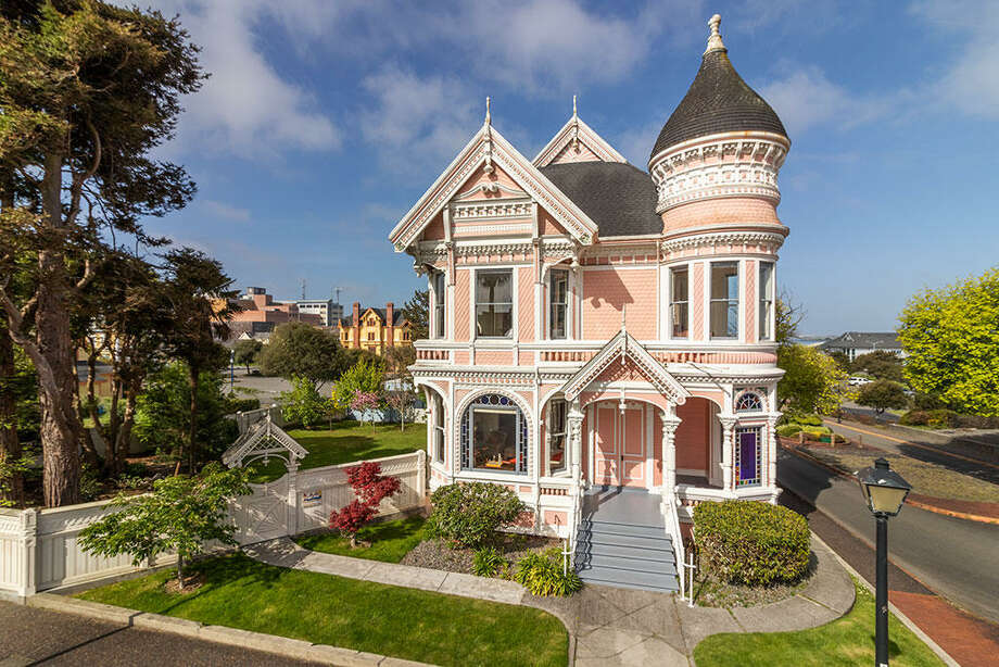 This historic Victorian on the bay in Eureka, or an 889 square foot one bedroom condo in San Francisco? They're the same price Photo: Jill MacDonald/Coldwell Banker