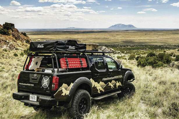 The Destination Frontier is based on a 2019 Frontier crew cab 4x4 Midnight Edition and costs less than $40,000. (Nissan photo)