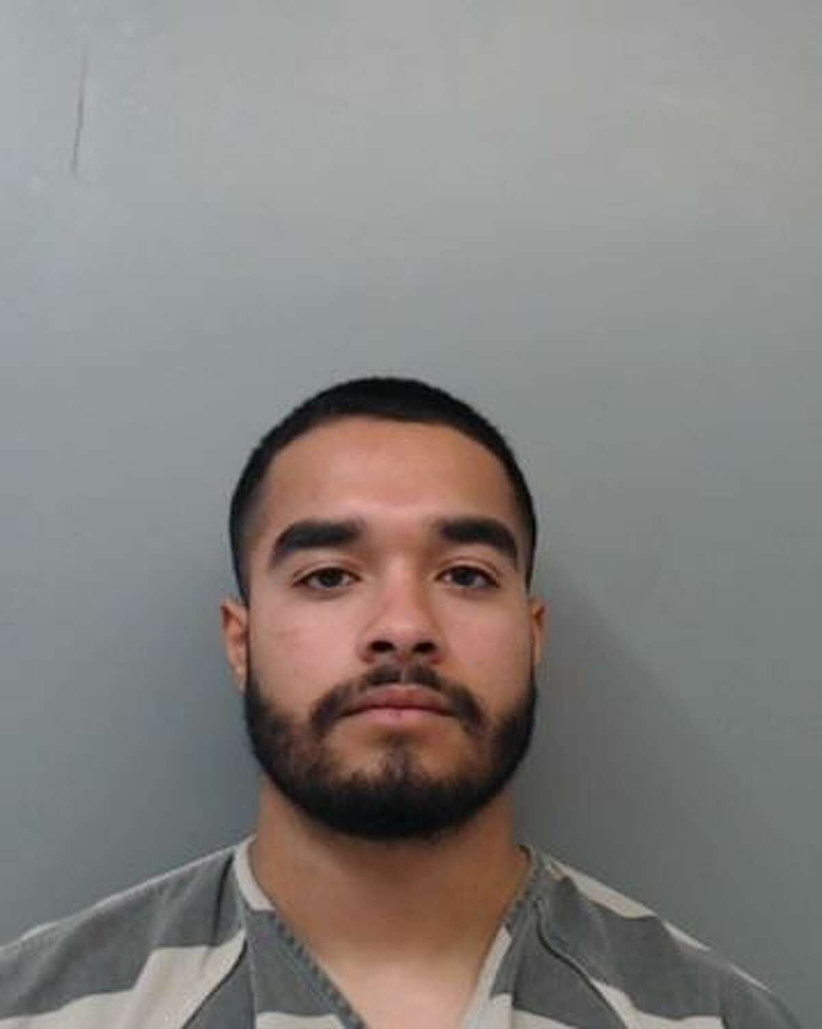 Joshua Tyler Montoya, 18, was served with an arrest warrant charging him with aggravated robbery.