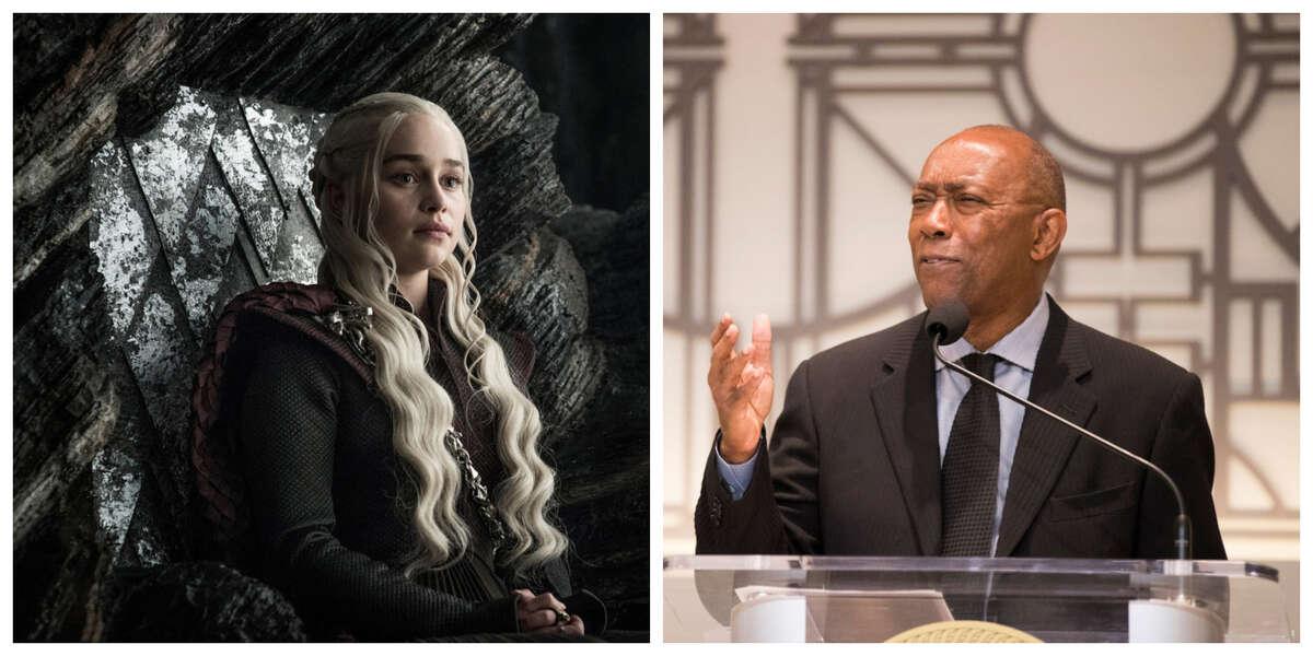 Daenerys = Sylvester Turner. Obviously.